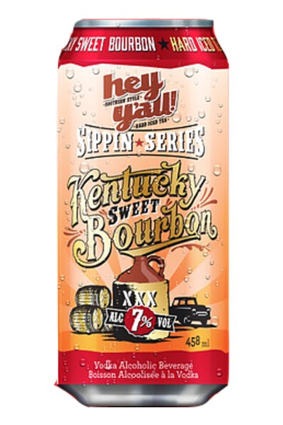 Hey Y'all Sippin Series Kentucky Sweet Bourbon Hard Iced Tea