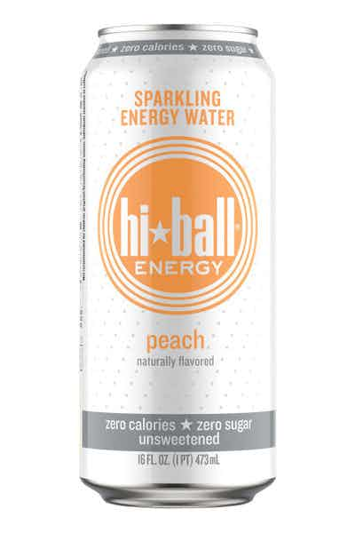 Hi-ball Energy Organic Peach