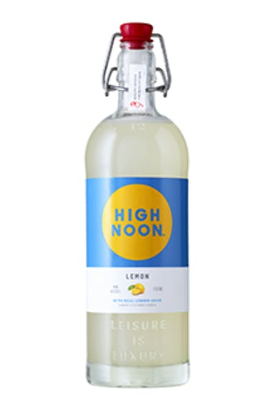 High Noon Lemon Vodka
