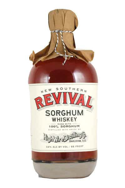 High Wire Distilling Co. New Southern Revival Sorghum Whiskey