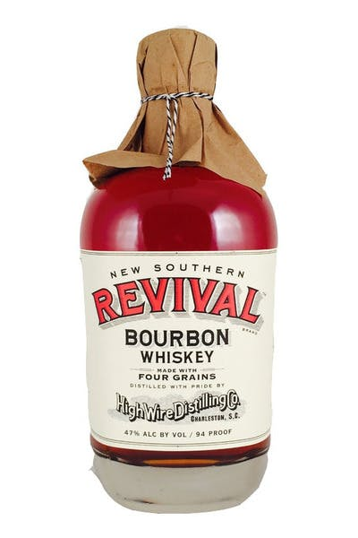 High Wire Distilling Co. New Southern Revival Straight Bourbon Whiskey