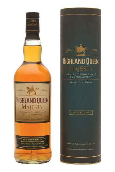 Highland Queen Majesty Rum Finish Single Malt