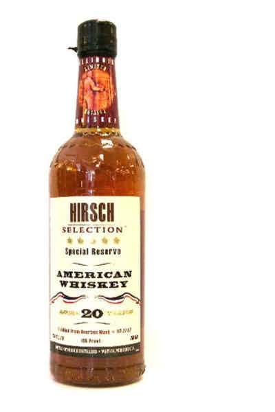Hirsch 20 Year Rye Whiskey