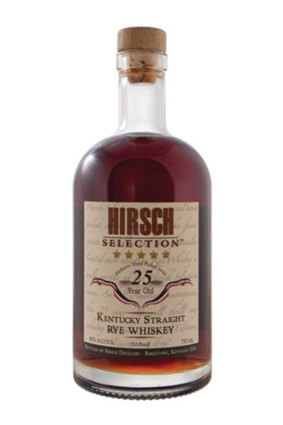 Hirsch 25 Year Rye