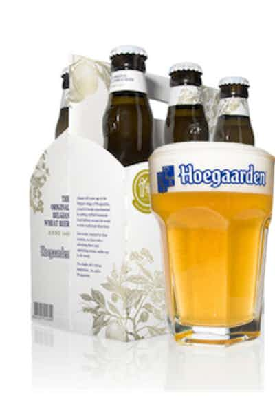 Hoegaarden 6 Pack With Glass