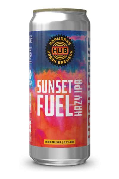 Hopworks Sunset Fuel Hazy IPA