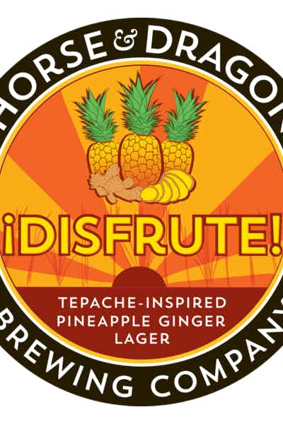Horse And Dragon Disfrute Pineapple Ginger Lager