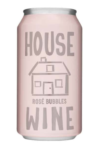 House Wine Rosé Bubbles