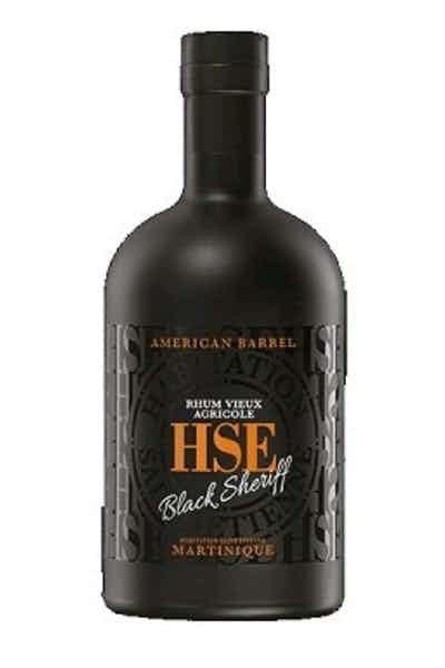 HSE Habitation Black Sheriff Martinique Rum