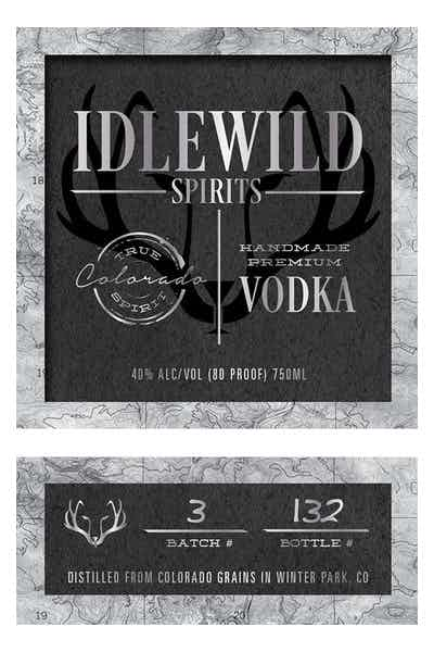 Idlewild Spirits Vodka