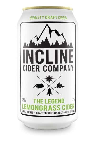 Incline Lemongrass Cider