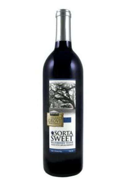 Island Grove Sorta Sweet Blueberry Wine