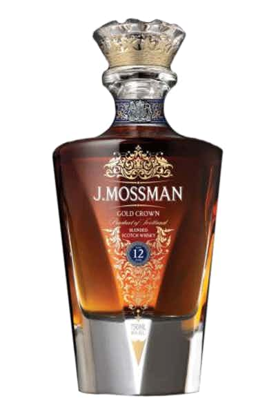 J. Mossman Pink Gold Crown Scotch 18 Year