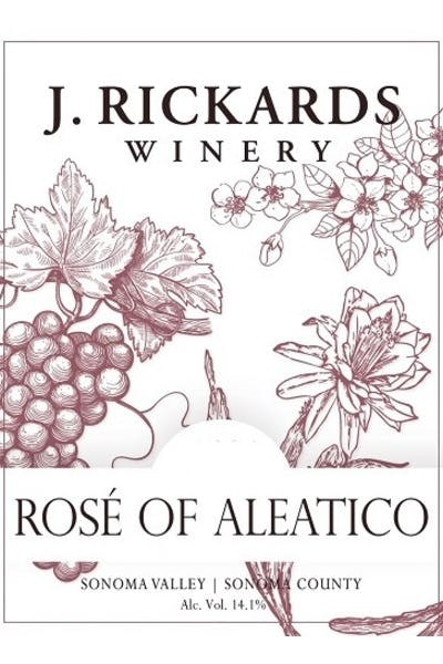 J. Rickards Aleatico Rosé