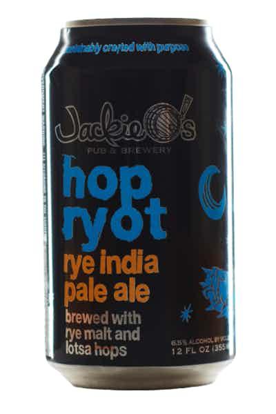 Jackie O's Hop Ryot IPA