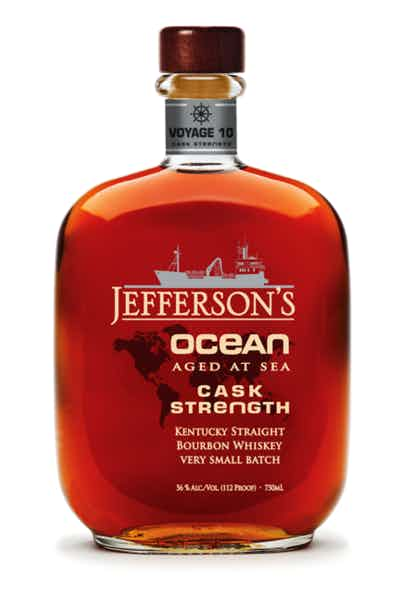 Jefferson's Ocean Aged At Sea Voyage 9 Cask Strength