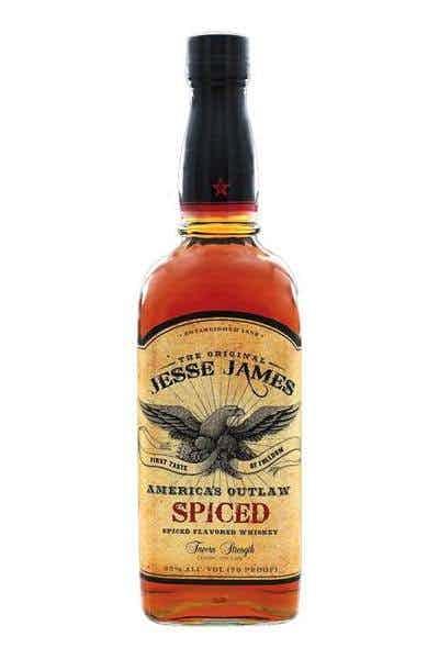 Jesse James America`s Outlaw Spiced Bourbon