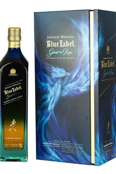 Johnnie Walker Blue Label Ghost & Rare Glenury Royal
