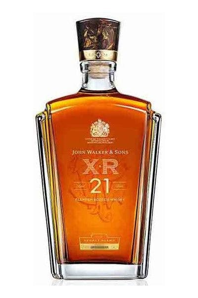 Johnnie Walker & Sons X.R Scotch Whiskey 21 Years