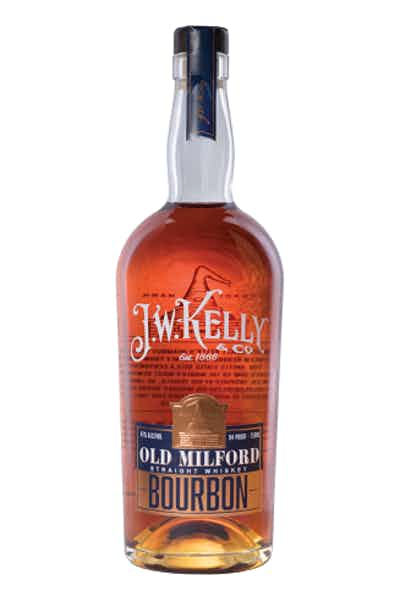 J. W. Kelly Old Milford Straight Bourbon Whiskey
