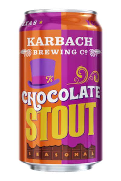 Karbach Brewing Co. Chocolate Stout