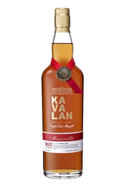 Kavalan Solist Manzanilla Sherry Single Cask Strength Single Malt Whisky