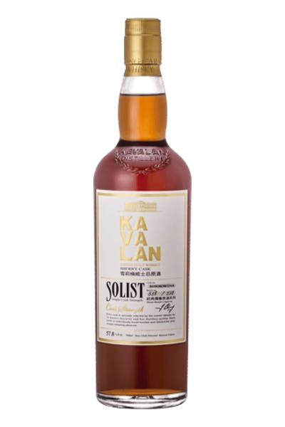 Kavalan Solist Sherry Cask Single Malt Whiskey