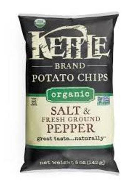 Kettle Chips Salt & Pepper .