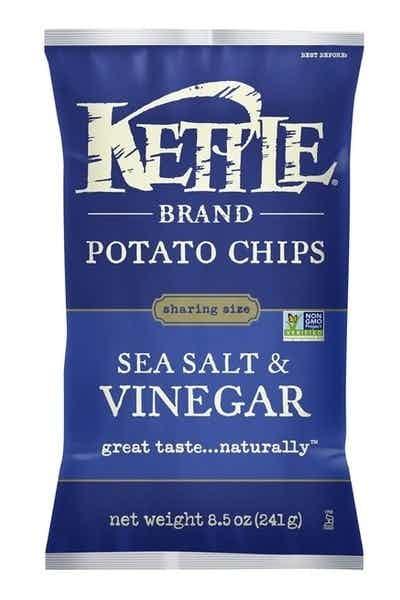 Kettle Sea Salt & Vinegar Potato Chips