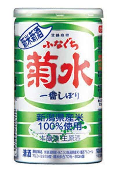 Kikusui Shuzo Shinmai Shinshu Funaguchi Honjozo Sake