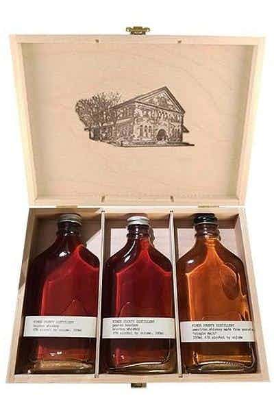 Kings County Distillery 3 Aged Whiskey Gift Pack