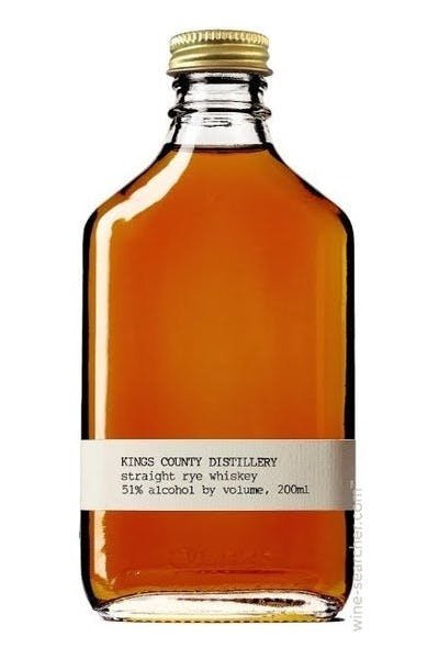 Kings County Distillery Straight Rye Whiskey