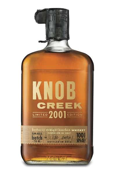 Knob Creek 2001 Edition Bourbon Whiskey