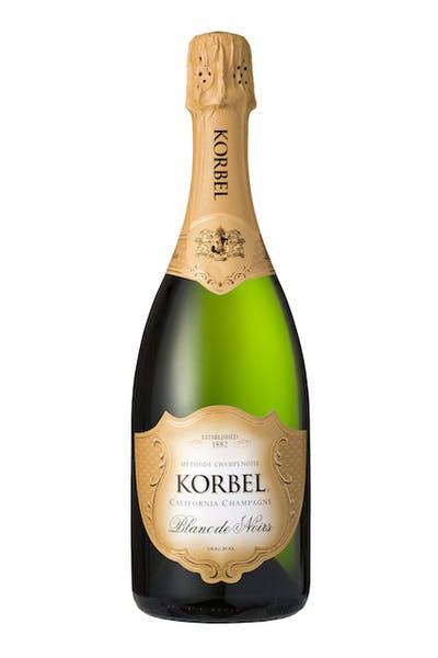 Korbel Blanc de Noirs California Champagne
