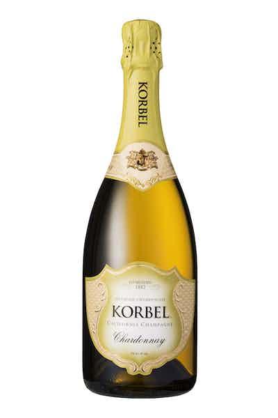 Korbel Chardonnay California Champagne