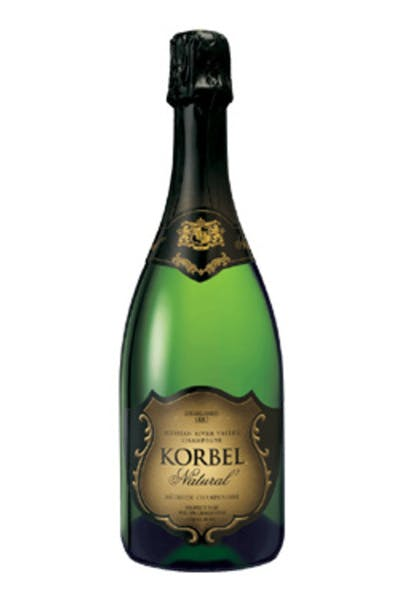 Korbel Natural' California Champagne