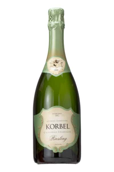 Korbel Riesling California Champagne