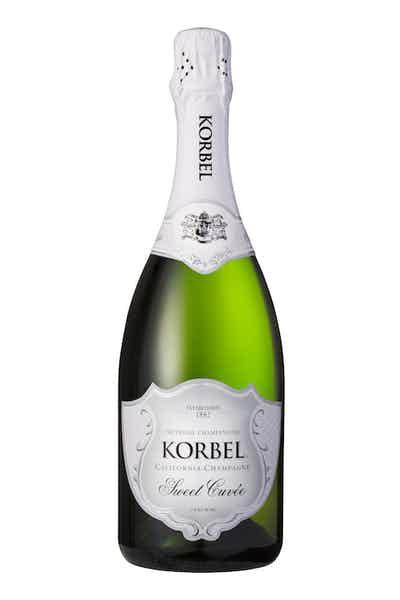Korbel Sweet Cuvée California Champagne