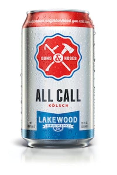 Lakewood Brewing All Call Kolsch
