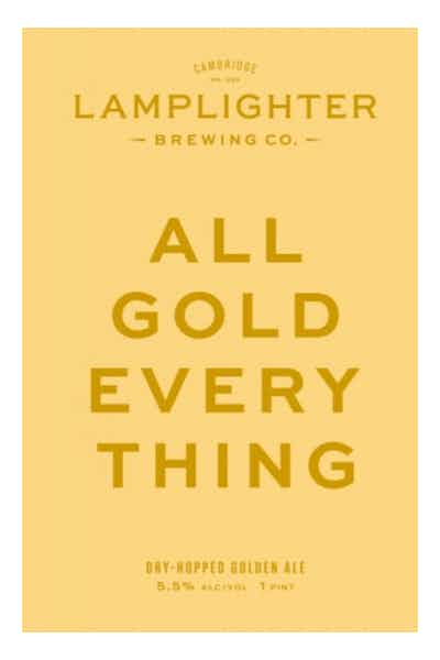 Lamplighter All Gold Everything Dry Hopped Golden Ale