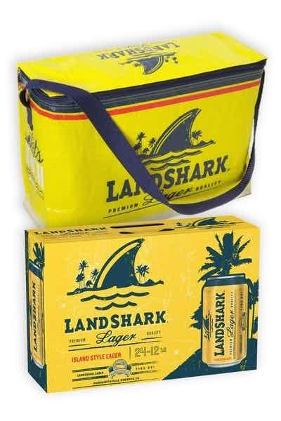 LandShark Lager 24-Pack Can with Cooler Bag
