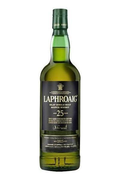 Laphroaig Single Malt Cask Strength 25 Year