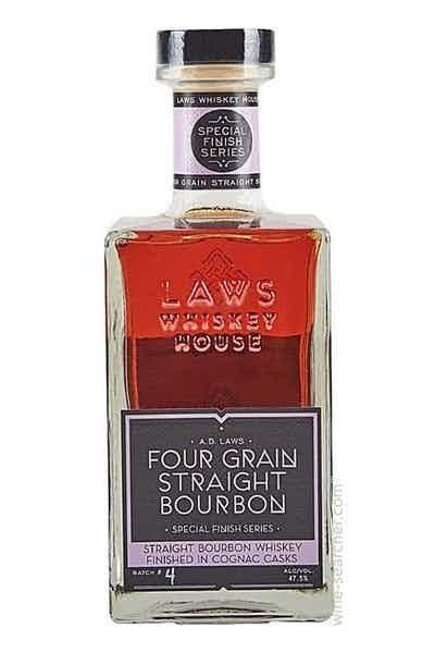 A.D. Laws Four Grain Straight Bourbon Cognac Finish