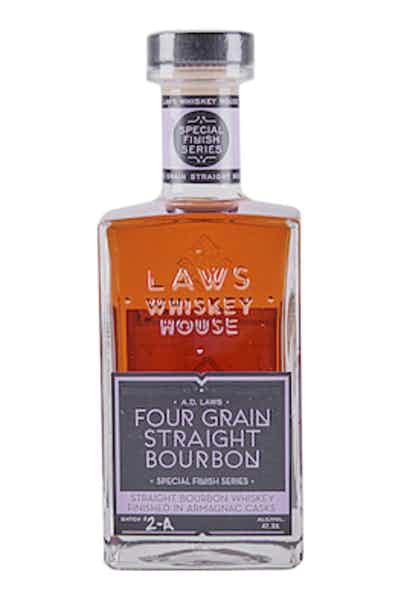 A.D. Laws Four Grain Straight Bourbon Finished in Armagnac Casks