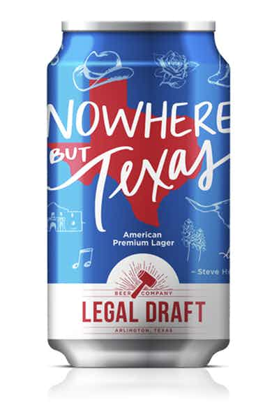 Legal Draft Nowhere But Texas Lager