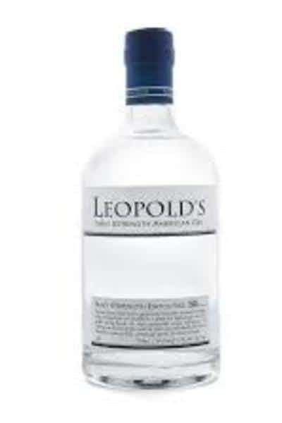 Leopold Brothers Navy Strength Gin