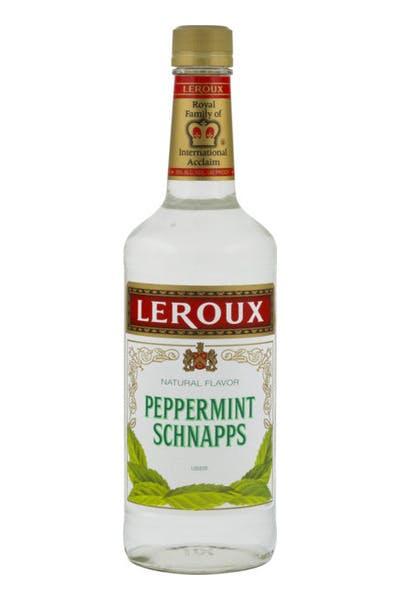 Leroux Peppermint Schnapps Liqueur
