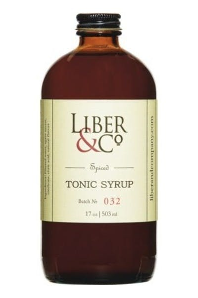 Liber & Co. Spiced Tonic Syrup