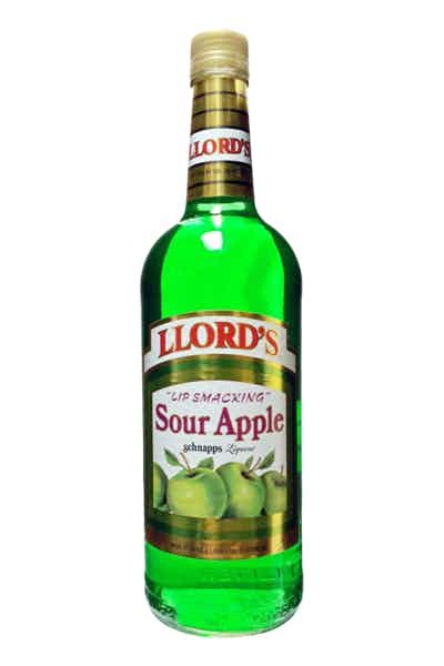 Llord's Sour Apple Schnapps