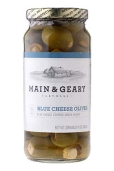 Main & Geary Blue Cheese Olives
